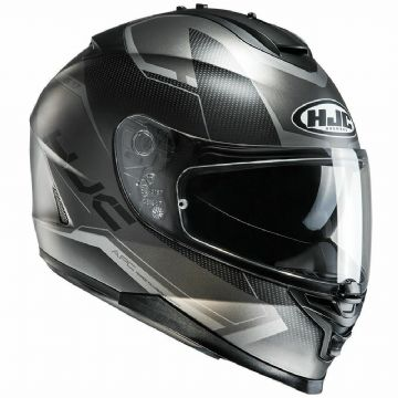 HJC IS-17 Loktar Black Full Face Motorcycle Helmet M L  Free Pinlock RRP £180